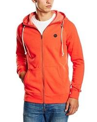 roter Pullover mit einem Kapuze von Volcom