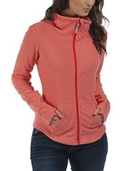 roter Pullover mit einem Reißverschluß von Bench