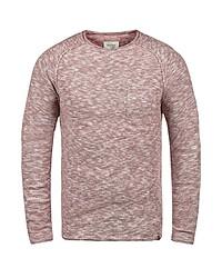 roter Pullover mit einem Rundhalsausschnitt von BLEND