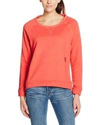 roter Pullover mit einem Rundhalsausschnitt von Chiemsee