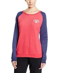 roter Pullover mit einem Rundhalsausschnitt von Puma