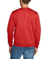 roter Pullover mit einem V-Ausschnitt von Maerz