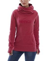 roter Pullover mit einer Kapuze von Bench