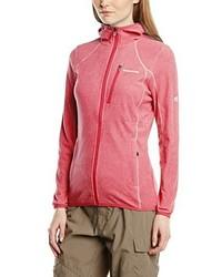 roter Pullover mit einer Kapuze von Craghoppers