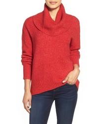 Roter pullover mit weitem rollkragen original 3685919
