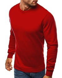 roter Pullover von OZONEE