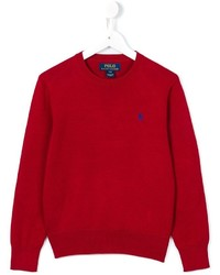roter Pullover von Ralph Lauren