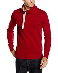 roter Pullover von Tom Tailor