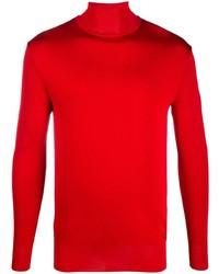 roter Rollkragenpullover von Givenchy