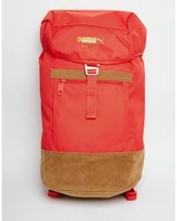 roter Rucksack von Puma