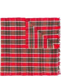 roter Schal mit Schottenmuster von Polo Ralph Lauren