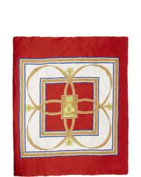 roter Schal von Burberry