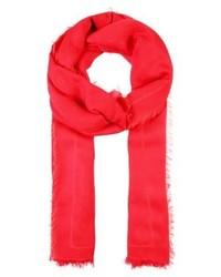 roter Schal von Hugo Boss