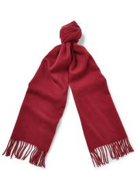 roter Schal von J.Crew