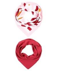 roter Schal von Pieces