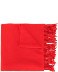 roter Schal von Pringle