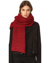 roter Schal von Rag & Bone