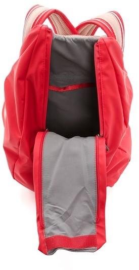 roter Segeltuch Rucksack von adidas by Stella McCartney