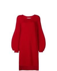 roter Strick Oversize Pullover von Stella McCartney