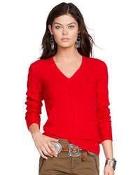 Roter strickpullover original 1334499