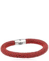 rotes Armband von Endless