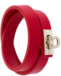 rotes Armband von Salvatore Ferragamo