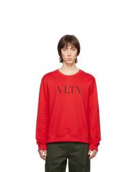 rotes bedrucktes Sweatshirt von Valentino