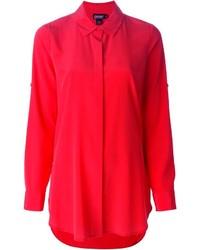 rotes Businesshemd von DKNY