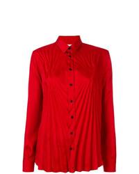 rotes Businesshemd von Maison Margiela