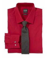 rotes Businesshemd von Olymp