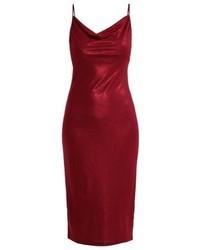 rotes Camisole-Kleid von Anna Field