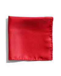 rotes Einstecktuch