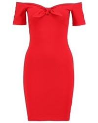 Rotes Etuikleid von Miss Selfridge