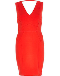Rotes figurbetontes kleid original 1384071