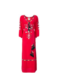 rotes Folklore Kleid von Figue