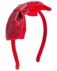 rotes Haarband von Simonetta