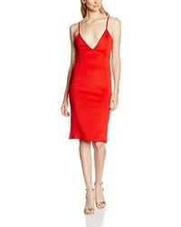 rotes Kleid von Boohoo