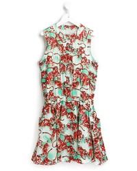 rotes Kleid von Kenzo