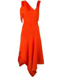 rotes Kleid von Victoria Beckham