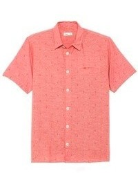 Rotes kurzarmhemd original 366588