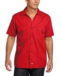 rotes Kurzarmhemd von Dickies