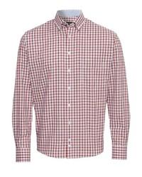 rotes Langarmhemd mit Vichy-Muster von HATICO