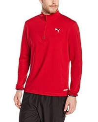 rotes Langarmshirt von Puma