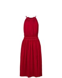 rotes Leinen Strandkleid von Altuzarra