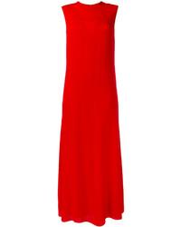 rotes Midikleid aus Seide von Valentino