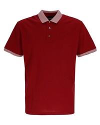 rotes Polohemd von Emporio Armani