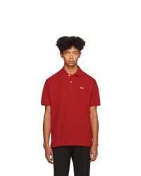 rotes Polohemd von Lacoste