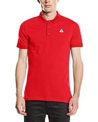 Rotes Polohemd von Le Coq Sportif