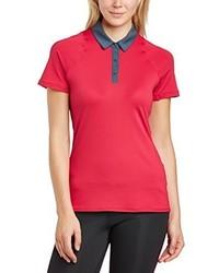 rotes Polohemd von Nike