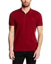 rotes Polohemd von ONLY & SONS
